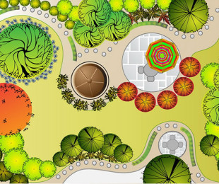 bigstock-Collections-od-Landscape-Plan-62096435